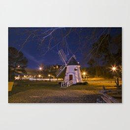 Yorktown Windmill at Night Canvas Print