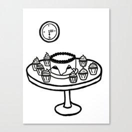 Dauntless Breakfast Canvas Print