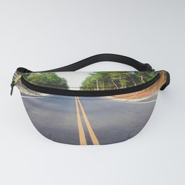 Empty road Fanny Pack