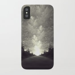 The Obvious Road iPhone Case