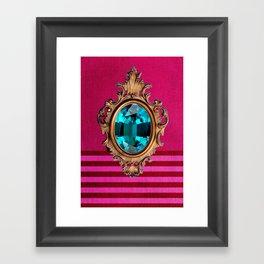 Royal Bling Framed Art Print