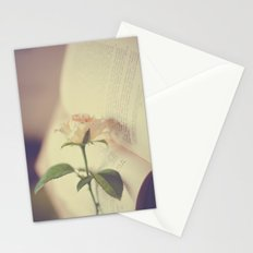 Make time to smell the roses Stationery Cards