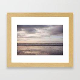 december Framed Art Print