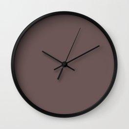 Peppercorn Color Accent Wall Clock