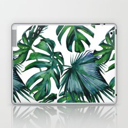 Tropical Palm Leaves Classic II Laptop & iPad Skin