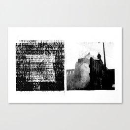 DUPLICITY / 05 Canvas Print