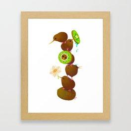 Kiwi Framed Art Print