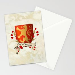 King's Champion - Lioness Shield Stationery Cards