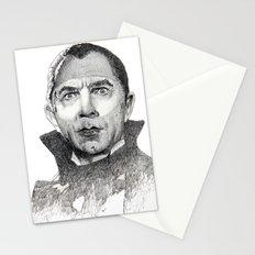 Dracula Bela lugosi Stationery Cards