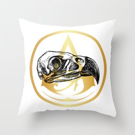 Origins of the Creed Throw Pillow