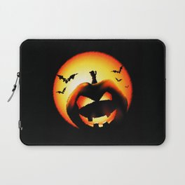 Smile Of Scary Pumpkin Laptop Sleeve