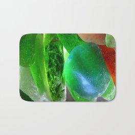 Beachcomber's Treasures Assorted Beach Glass Bath Mat