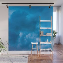 blue clouds Wall Mural