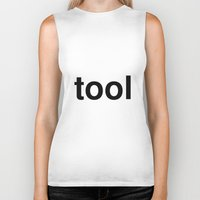 tool Biker Tanks featuring tool by linguistic94