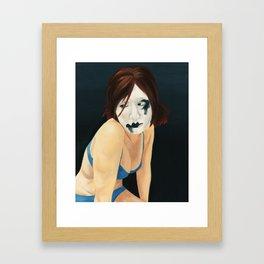 Clown laid bare #2 Framed Art Print