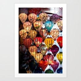 Lanterns of Hoi An, Vietnam Art Print