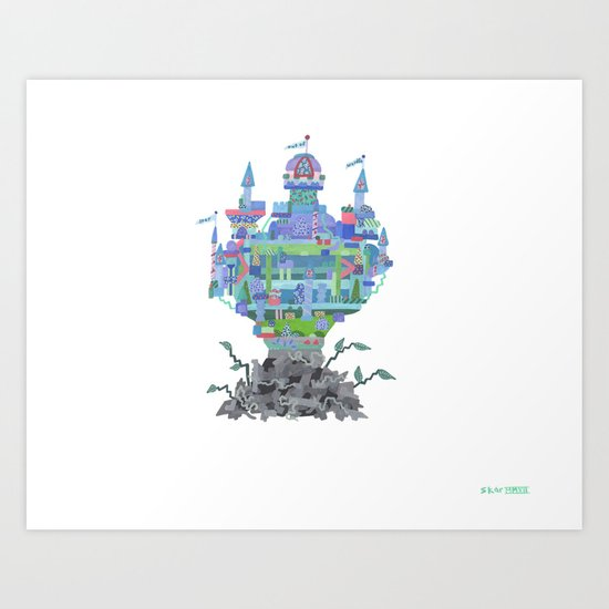 walden...walmart can't touch it, you know? there'd be hell, as it were Art Print