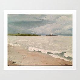 Whitley Bay Art Print