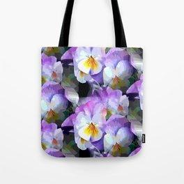Pretty Violas Tote Bag