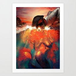 The Nereid Art Print