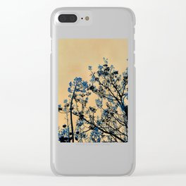 Beckon the Blue Clear iPhone Case