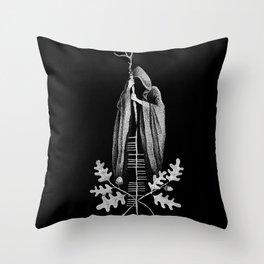 The Cailleach Throw Pillow