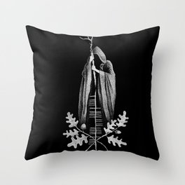 The Cailleach Throw Pillow