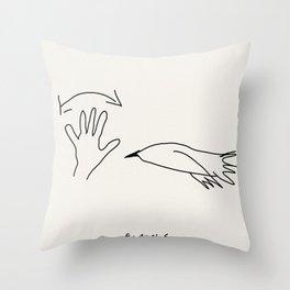 """True """"FRIENDS"""" fans - S01 Throw Pillow"""