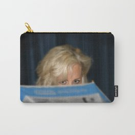 Girl With Umbrella Carry-All Pouch