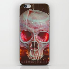 Catacomb Culture - Skull Candle iPhone Skin