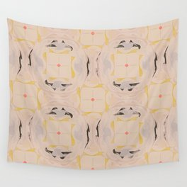 Five Thousand Windows (Morganite) Wall Tapestry