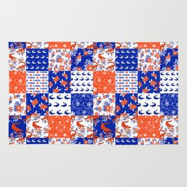 Florida University gators swamp life varsity team spirit college football quilted pattern gifts Rug