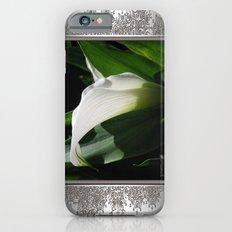 Zantedeschia named Crystal Blush Slim Case iPhone 6s