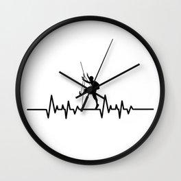 Heartbeat Rock Climbing - Love Climbing Wall Clock