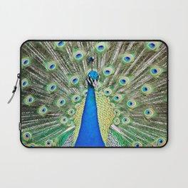 """Charmer"" the peacock Laptop Sleeve"