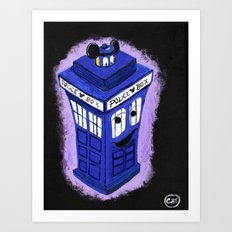 Who Dis Tardis Art Print