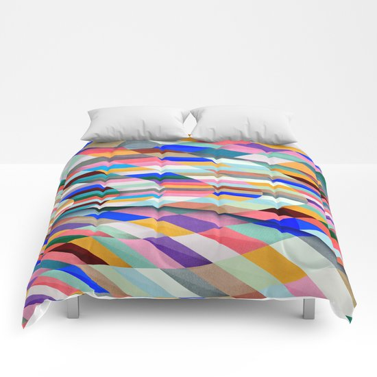 Colourful Twist Comforters