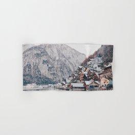 VILLAGE - COAST - MOUNTAINS - SNOW - PHOTOGRAPHY Hand & Bath Towel