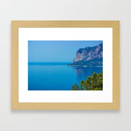 Blue Seascape Framed Art Print