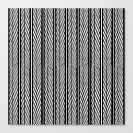 Herringbone Stripe Canvas Print