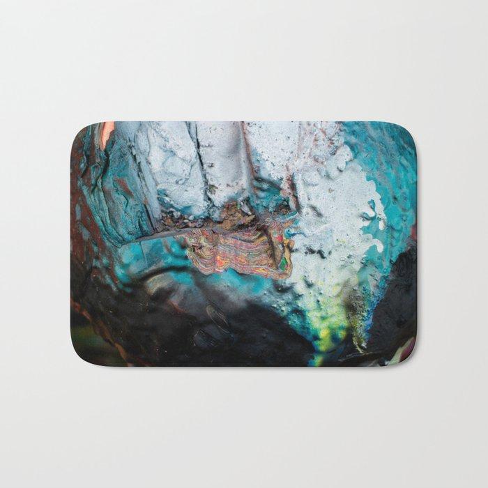 Paint Geode Bath Mat