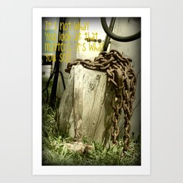 The Hammer! Art Print