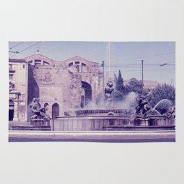 Vintage color photo * 1950's * Santa Maria degli Angeli e dei Martiri * Rome * Italy Rug