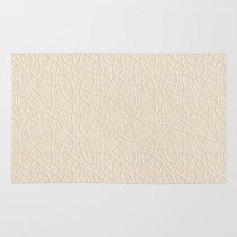 Arabesque Vines 3D - Color: Sahara Sand Rug