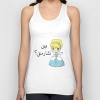 arabic Tank Tops featuring Charming Arabic by Antaka Overdose