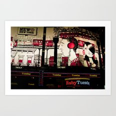 Ruby Tuesday Art Print