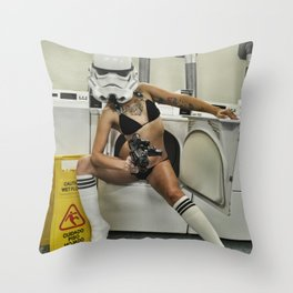 Coco Trooper Throw Pillow