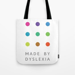Made By Dyslexia Tote Bag