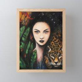 Fierce Beauty Framed Mini Art Print