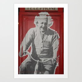 Einstein Art Print